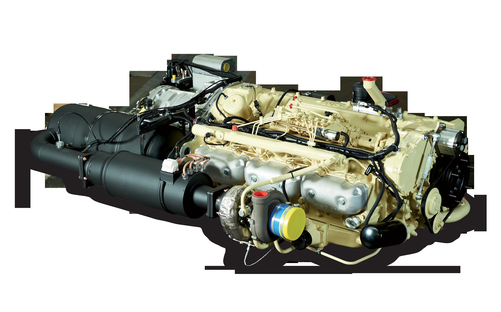 Drážní motory TEDOM